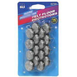 24 Wholesale 16 Piece Felt Floor Protector
