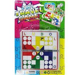 72 Bulk 2 In 1 Travel Game Sets