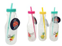 24 Units of Printed Water Bottle - Drinking Water Bottle