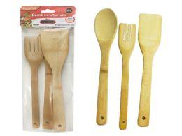 96 Units of Utensils Bamboo - Kitchen Gear