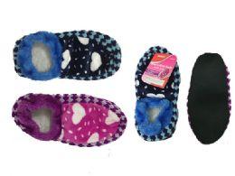 144 Units of Socks Women With Dots - Womens Slipper Sock