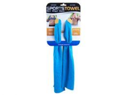 36 Wholesale Sports Towel 35 X 11