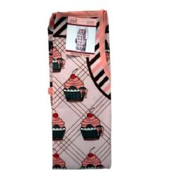 72 Units of Pink Cupcake Style Apron 22x32in - Kitchen Aprons