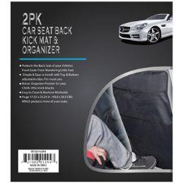 12 Units of Car Seat Back Kick Mat - Auto Accessories