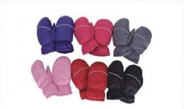 36 Units of Childrens Snow And Ski Mittens - Kids Winter Gloves