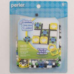 48 Wholesale Craft Kit Tic Tac Toe Fused Beads Perler