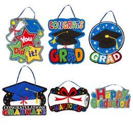 36 Units of Graduation Hanging Decor Paper - Graduation
