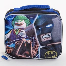 6 Units of Lunch Bag Lego Batman Soft Sided Cordura Insulated - Lunch Bags & Accessories