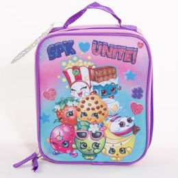 6 Units of Lunch Bag Shopkins Soft Sided Cordura Insulated - Lunch Bags & Accessories