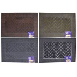 12 Units of Mat Outdoor Rubber Pin Assorted Colors - Mats