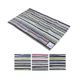 50 Units of Scatter Rug Multicolor Reversible Woven - Mats