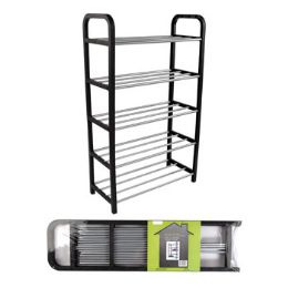 6 Units of Shoe Rack Rta Holds 10 Pairs - Footwear & Shoes