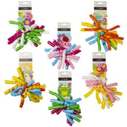 36 Units of Bow Curly With Spring Icon - Gift Wrap