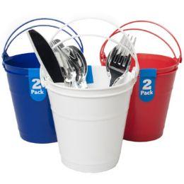 48 Bulk Bucket 2 Plastic With Handle