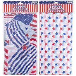 36 Bulk Straws Paper Patriotic Hotstamp