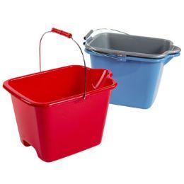 20 Units of Bucket Plastic With Handle - Buckets & Basins