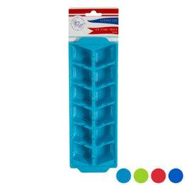 96 Units of Ice Cube Tray 2 Pack With Header Card - Kitchen Gadgets & Tools