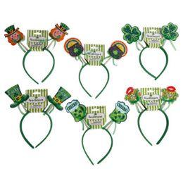 48 Units of Headband Saint Patrick Headbopper - St. Patricks