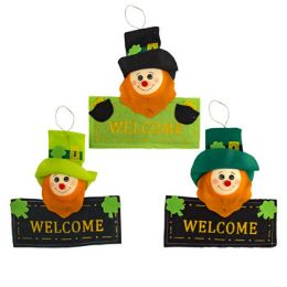 24 Units of Leprechaun Welcome Sign Saint Patrick - St. Patricks