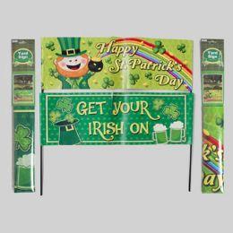 72 Units of Saint Patrick Yard Sign Banner - St. Patricks