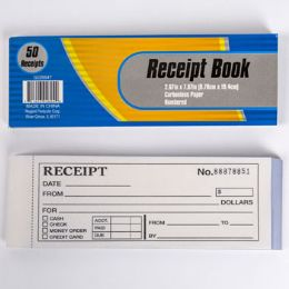 48 Wholesale Receipt Book Numbered