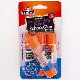16 Wholesale School Glue Sticks Elmers Disappearing Purple