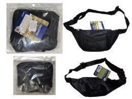 144 Units of 4 Pocket Adjustable Fanny Pack - Fanny Pack