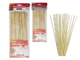 96 Units of 100 Piece Bamboo Bbq Skewers - BBQ supplies