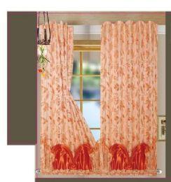 24 Units of Paula Orange Panel In Box - Window Curtains