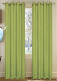 24 Units of York Sage Blackout Grommet Panel - Window Curtains