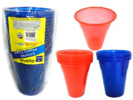 24 Units of 15 Piece Plastic Tumbler Cups - Plastic Drinkware