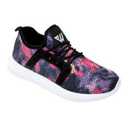 12 Units of Women's Fashion Sneakers In Purple - Women's Sneakers