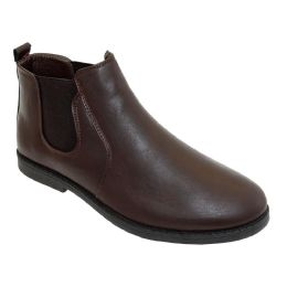 12 Units of Mens Casual Chukka Ankle Boots In Brown - Men's Footwear