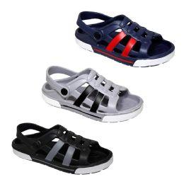 48 Units of Boys Multi Color Sandal - Boys Flip Flops & Sandals