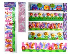 288 Units of Eva Wall Sticker Decoration - Stickers