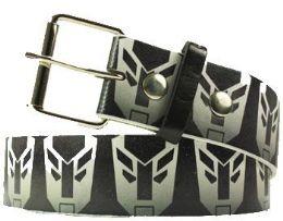 96 Units of Black Printed Belt - Belts