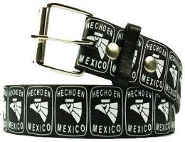 96 Units of Hecho En Mexico Printed Belt - Belts