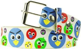 96 Units of Angry Birds Printed Belt - Belts