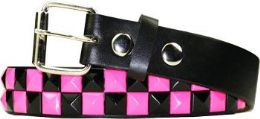 12 of Kids Studded Belts In Black And Pink