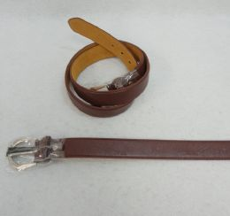 36 Units of Belt Wide Brown USA Eagle In Size Large - Belts