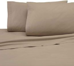 48 Units of Martex Queen Size Pillow Case Heavy Weight And Durable In Khaki - Pillow Cases