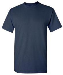 24 Units of Men's Gildan Navy T Shirts - Mens T-Shirts