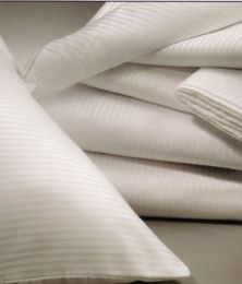 72 Units of Tone On Tone White Standard Size Pillowcase - Pillow Cases