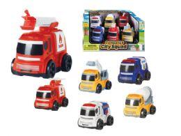 24 Units of Friction City Fleet - Cars, Planes, Trains & Bikes