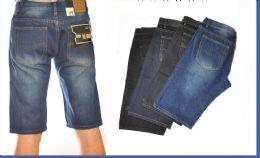 24 of Men's Denim Shorts In Dark Blue