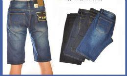24 of Men's Denim Shorts In Mid Blue