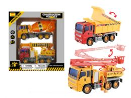 24 Units of Friction Construction Vehicle - Cars, Planes, Trains & Bikes
