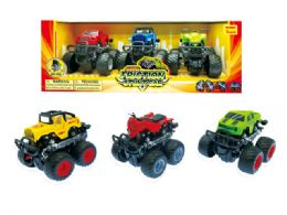 24 Units of Friction Monster Truck with 360 Turn Function - Cars, Planes, Trains & Bikes
