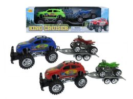 24 Units of Friction Monster Towing Suv - Cars, Planes, Trains & Bikes
