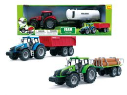 18 Units of Friction Farm Tractor - Cars, Planes, Trains & Bikes